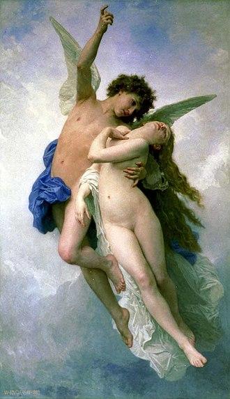 L'Amour et Psyché, enfants - Image: Psyche et L Amour