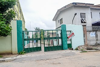 Yaba, Lagos - Image: Psychiatric Hospital Yaba