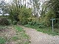 Public Footpath - Cookham - geograph.org.uk - 1539858.jpg