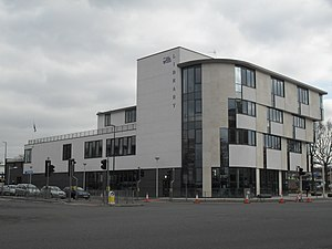 Public services in Crawley - Crawley Library opened in 2008.
