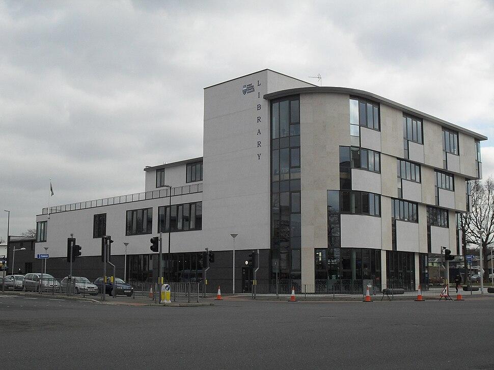 Public Services in Crawley - Crawley New Library