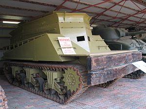 Beach armoured recovery vehicle - M3 BARV, Royal Australian Armoured Corps Tank Museum