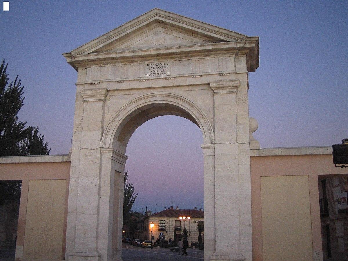 puerta de madrid wikipedia la enciclopedia libre