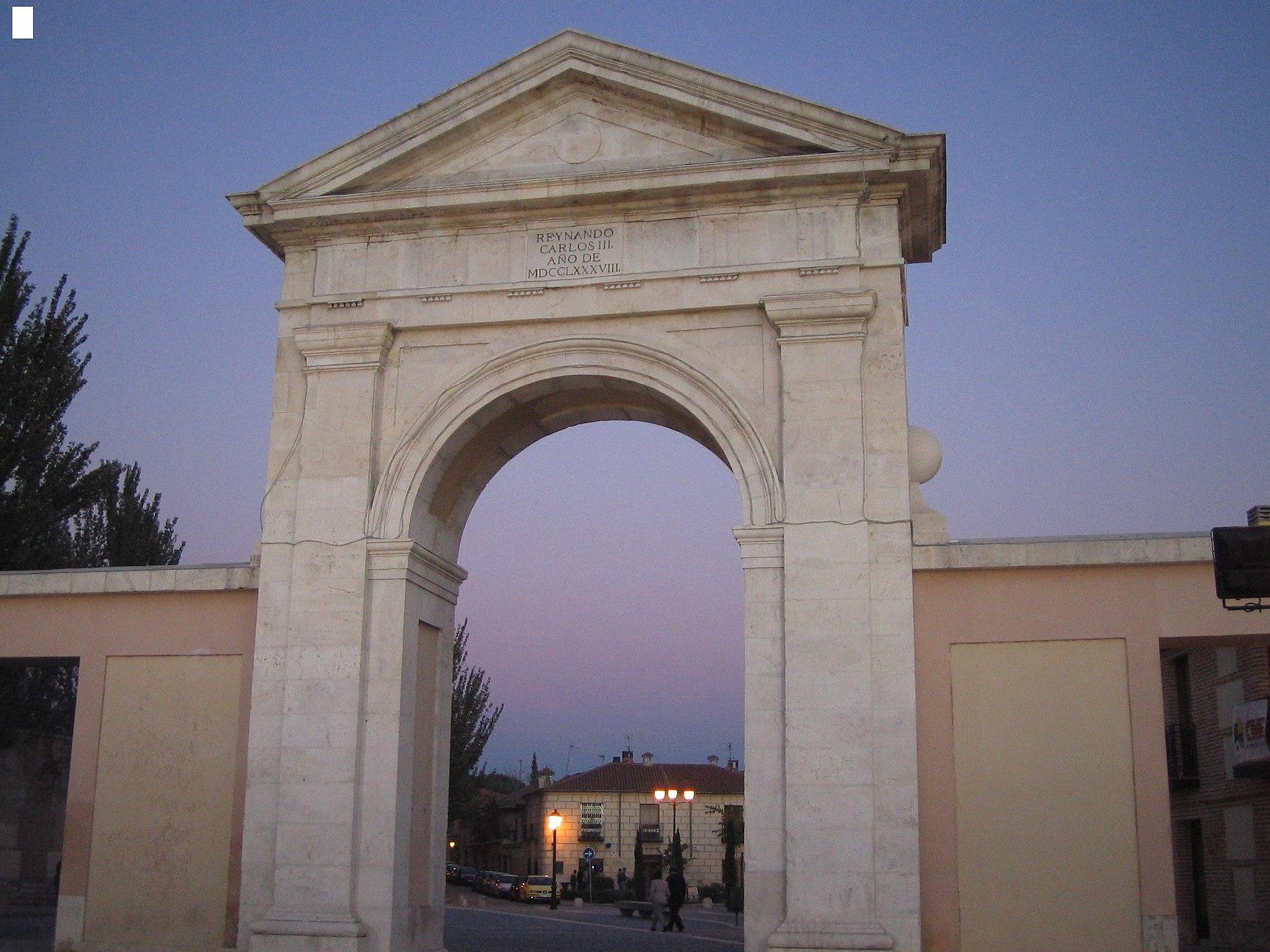 Puerta de madrid wikipedia la enciclopedia libre - Puertas lacadas en madrid ...