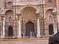 Puerta principal catedral de Astorga, León.JPG