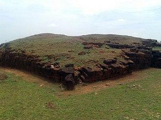 Pushpagiri Vihara - Image: Pushpagiri (Langudi Hill) Jajpur Odisha Buddhist site Ancient Stupa
