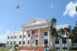 Putnam County, Florida - Image: Putnam C Court Palatka