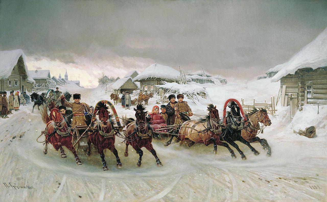 Pyotr Nikolayevich Gruzinsky - Maslenitsa.jpg