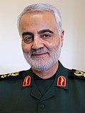 Qasem Soleimani with Zolfaghar Order (cropped)