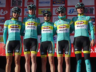 Giusfredi–Bianchi Italian cycling team