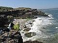 Quarried coastal outcrop - geograph.org.uk - 1259181.jpg