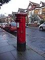 Queen Elizabeth II Pillar Box, Priory Road, London NW6 - geograph.org.uk - 1128490.jpg