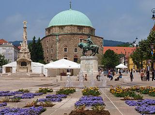 Mosque of Pasha Qasim Church in Pécs, Hungary