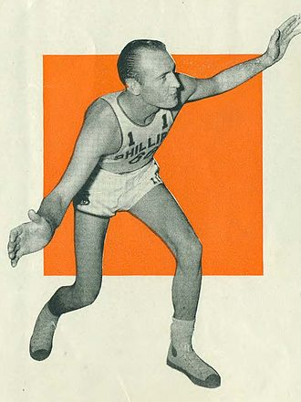 R. C. Pitts - Pitts with the Phillips 66ers.