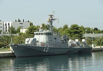 Croatian Navy - RTOP-42 Dubrovnik