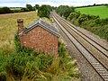 Railway near West Lyng - geograph.org.uk - 1397039.jpg