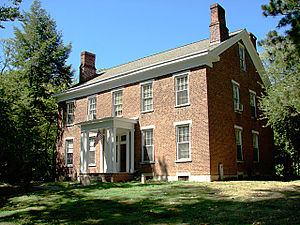 Organization of American Historians - OAH headquarters in Bloomington, known as the Millen House.