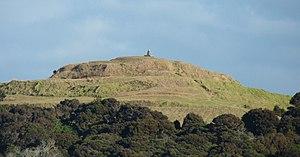 Taipa-Mangonui - Image: Rangikapiti Pa as seen from George Street Mangonui
