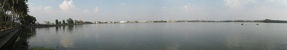 Rankala lake panorama