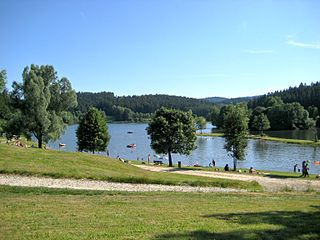 Ranna (Danube) River in Germany and Austria