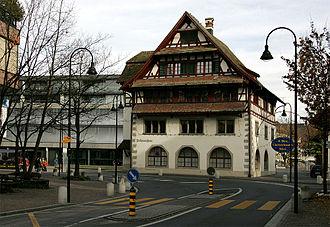 Baar, Switzerland - Image: Rathaus Baar