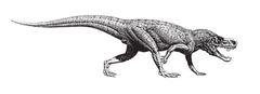 Un Postosuchus del Petrified Forest National Park, Arizona (EUA)