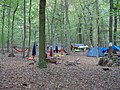 Re-occupation village in the Hambach forest 06.jpg