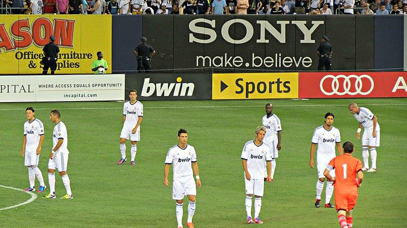 File:Real Madrid players at Yankee Stadium.jpg