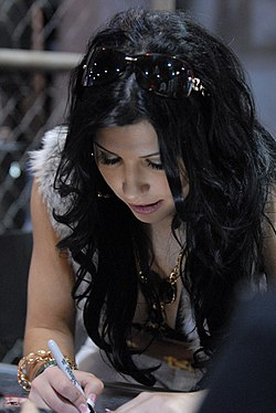 Rebeca Linares at AVN Adult Entertainment Expo 2008.jpg