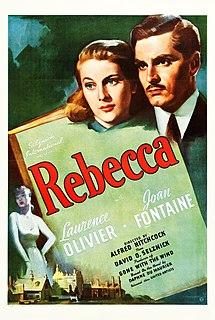 <i>Rebecca</i> (1940 film) 1940 film by Alfred Hitchcock