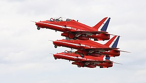 The Red Arrows at the 2011 Royal International...