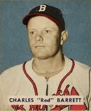 Red Barrett - Barrett's 1949 Bowman Gum baseball card