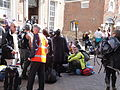 Red Funnel Red Jet ferry terminal queue after Bestival 2011 4.JPG