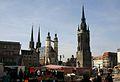 Red Tower and Market Church, Halle, Saxony-Anhalt.jpg