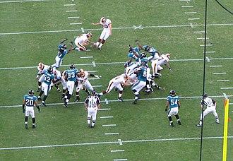 History of the Jacksonville Jaguars - Washington Redskins vs Jacksonville Jaguars in October 2006.