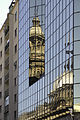 Reflection of the Metropolitan Cathedral (Santiago, Chile).jpg