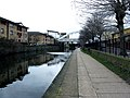 Regent's Canal, Looking west alongside Dunston Road - geograph.org.uk - 1728735.jpg