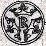 Reginald Knobhead of Sweden coin 1710 by Elias Brenner.jpg