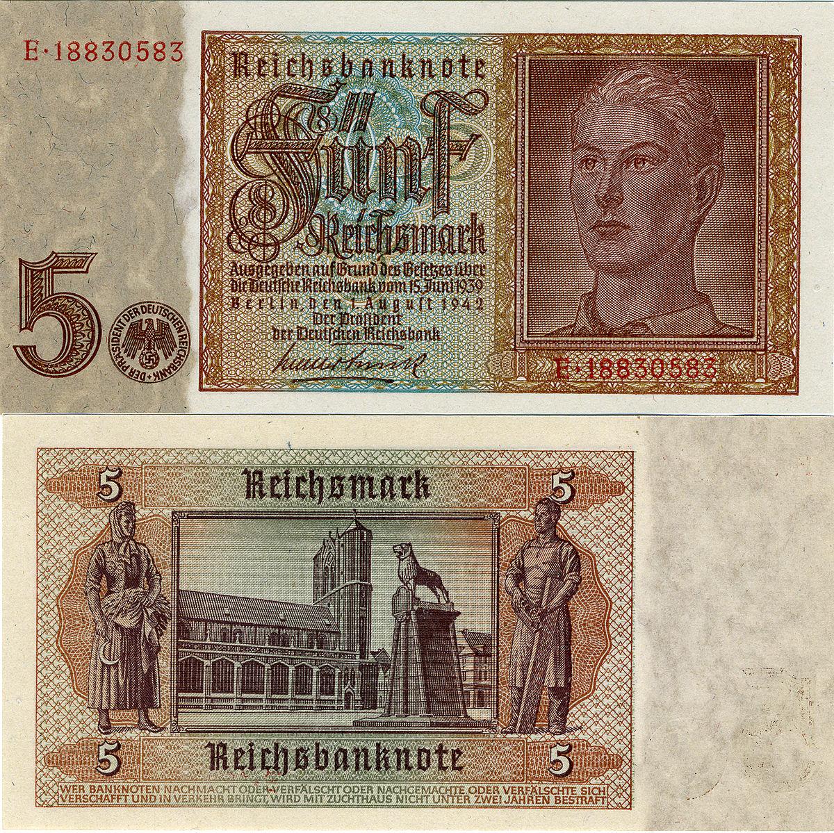 Рейхсмарка — Википедия