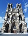 Reims 2008 -Facade of the Cathedral of Notre-Dame of Reims- by-RaBoe 01.jpg