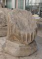 Remain of Roman column in the Basailica di San Paolo.jpg