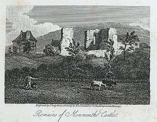 Remains of Monmouth castle