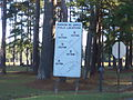 Remington Park Thomasville, field locations sign.JPG