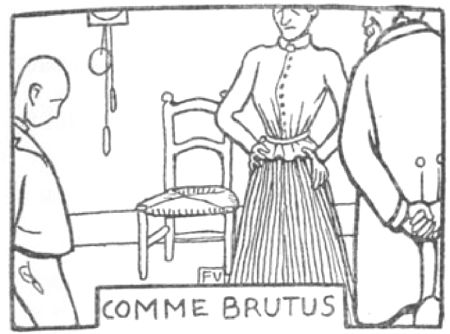 COMME BRUTUS