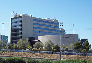 Renault España - Former Renault España offices in Madrid