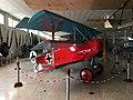 Replica Fokker DR.I at Museo de Aeronáutica y Astronáutica de España 02.jpg
