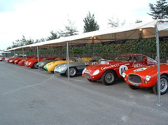 Goodwood Revival - Ferrari paddock, 2004