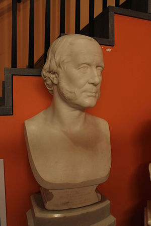 John Barlow (priest) - Bust of Barlow at the Royal Institution