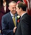 Richard Corcoran greets Joe Negron.jpg