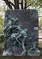 Richard Jakič, Bronzerelief Strandgut, Berndorf, Lower Austria.jpg